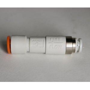 画像1: SMC 6mmと1/4ハードチューブ逆流防止弁付き特殊継ぎ手